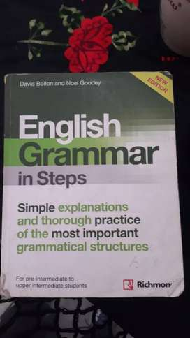 Libro ENGLISH GRAMMAR ON STEPS