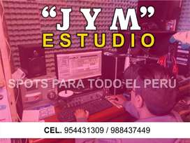 Spot Publicitario audio y video, para radio, TV, medios digitales