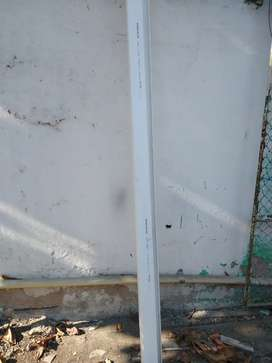 Canaleta en PVC Marca PAVCO 2,50mts
