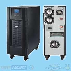 UPS CON REGULADOR BIFÁSICO CDP UPO22-6 AX DE 6000VA 5400W 220V  CONECTOR DE BATERIA EXTERNA