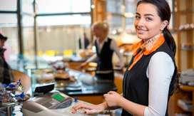 Cajera Administradora con Experiencia en Restaurante