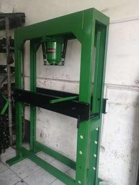 Prensa hidráulica nueva de 50 toneladas marca truper