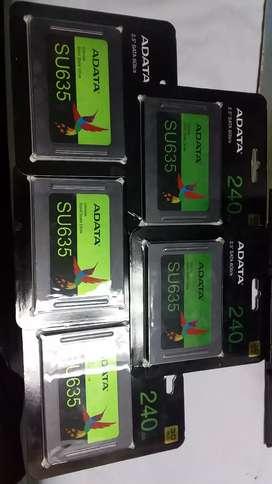 VENDO DISCO DURO SSD ADATA SU635 240GB (INSTALACION Y FORMATEADA GRATIS)