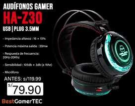 Audifonos Gamer HA - Z30 7LED