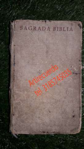 Sagrada Biblia Nácar Y Colunga  edicion 1967
