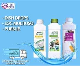 Kit limpieza y desinfección del hogar + gatillo y botella de regalo + envio incluido