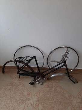 Proyecto Bicicleta Antigua , Barra Caida