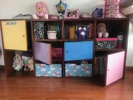armario multiusos niña