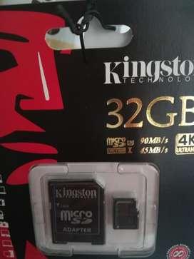 Memoria Micro Sd 32 Gigas Kingston