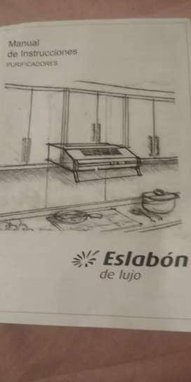 Vendo extractor para cocina Eslabón de Lujo