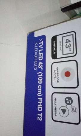 play 4 chipiado mas tv lcd 43 kalley