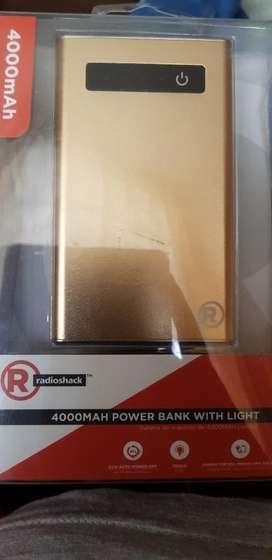 Batería Externa Radioshack 4000mah