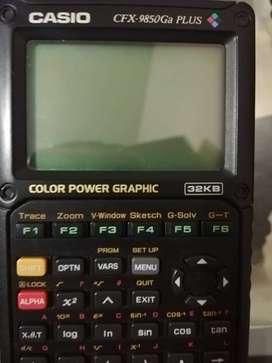 Calculadora Científica Gráfica Casio Cfx-9850gb Plus