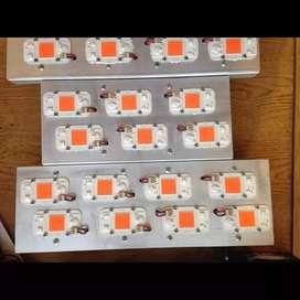 LED con 400w para cultivo canabico