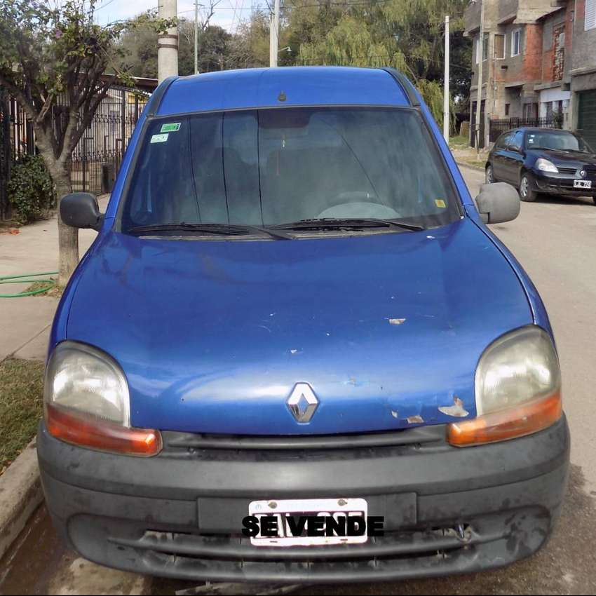 Vendo Kangoo diesel 1.9 modelo 99