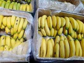 Venta de banano verde o maduro