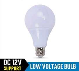 Bombillo led 7w 12v 24v Dc globo blanco para panel solar bateria