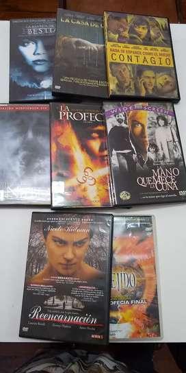 Kit películas de terror originales 8 peliculas