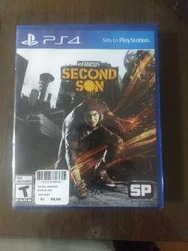 Vendo juego de PS4, totalmente nuevos