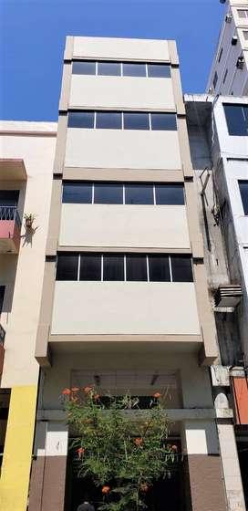 Venta de edificio 5 pisos, 1254 m, centro comercial Guayaquil, para almacén y bodegas