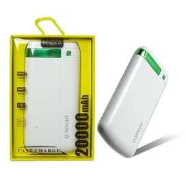 Batería portátil DEMACO 20000mAh DKK-004 Power Bank