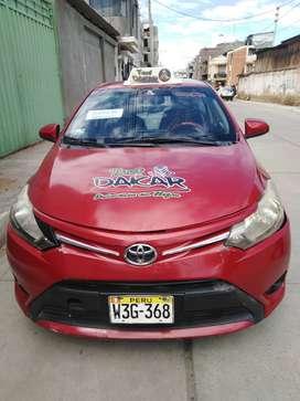 Vendo Toyota Yaris 2014 ocasión por deuda al banco
