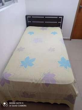 Closet + cama + colchón