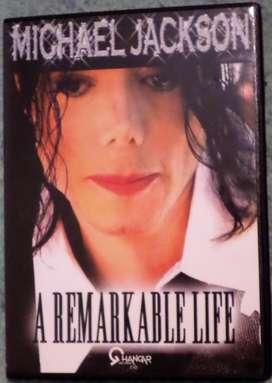 Michael Jackson. A Remarkable Life. Dvd original.