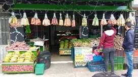 Fruver y supermercado negociable
