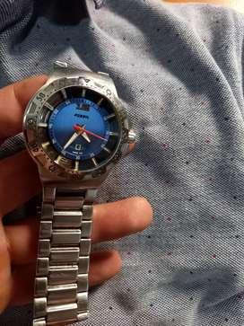 Vendo reloj original  fossil automático en acero inoxidable