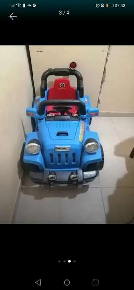 Carrito eléctrico para niño