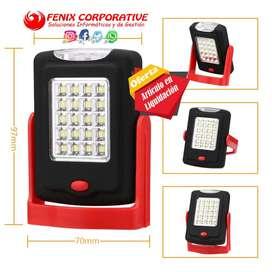 Linterna LED portátil de luz nocturna linterna LED linterna de trabajo 23 LED 2 modos de lámpara