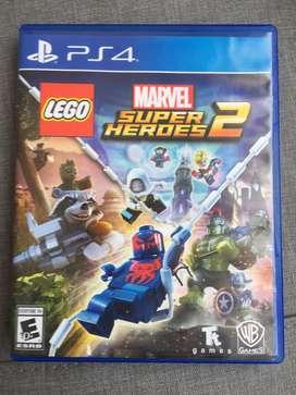 Lego marvel super heroes 2 PS4. Venta o cambio del juego