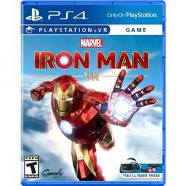 Iron Man PS4 VR Requiere Kit Realidad Virtual