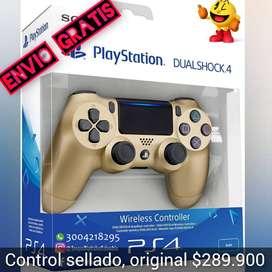 Control original PS4 Sellado. Control PS4 Dorado. Somos Juegos Digitales Colombia