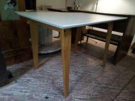 Mesa nórdica, tamaño 1.20 x 0,80 cm