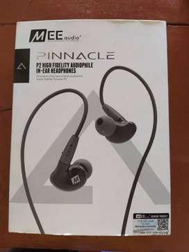 Audifonos in-ear Pinnacle P2 de alta fidelidad + cable con microfono