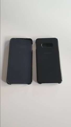 Funda Flip Cover Clear View Standing Samsung S10e