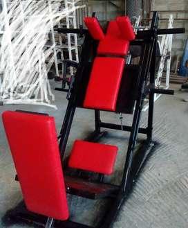 Se construyen maquinas de gimnasio