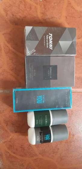 Perfumes y desodorantes