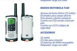 RADIOS MOTOROLA T260