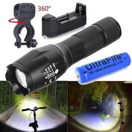 Linterna Ultrafire 20000LM 5 modos T6 LED 18650