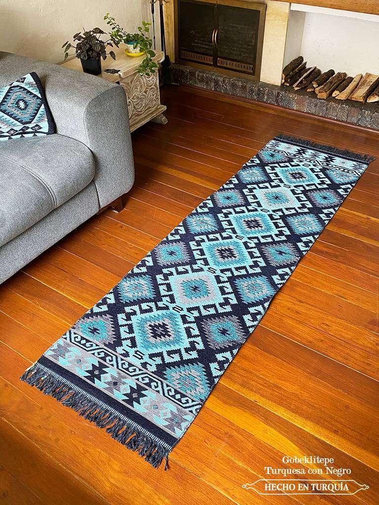 Tapete Kilim Diseño Gobeklitepe 200 x 60 cm