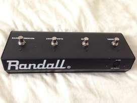 Pedalera Randall para Amplificador