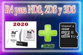 R4 para ds, 2ds y 3ds