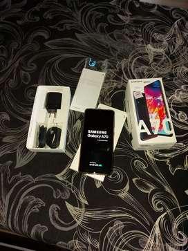 Vendo Samsung a70 libre