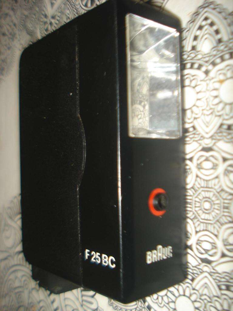 Flash Braun F25 Bc Funcionando No Envio 0