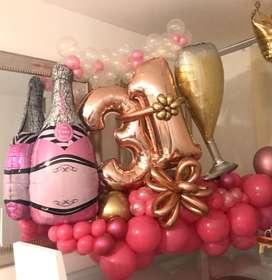 Hermoso Bouquet de bombas