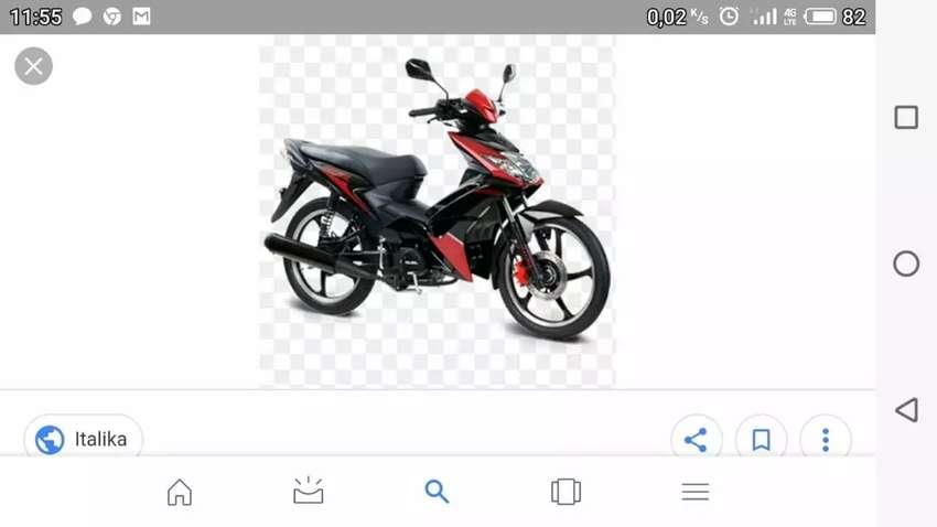 Moto Italika motor 110 0