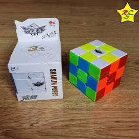 Cubo Rubik Cyclone Boys 3x3 Shaolyn Popey Speed Cube Gama Warrior